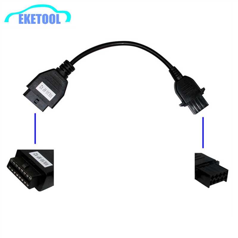 Professional Truck Diagnostic Extension Cable For Volvo 8Pin to OBD2 16Pin  Female Connector DLC OBD OBDII Fits VOLVO 8 PIN