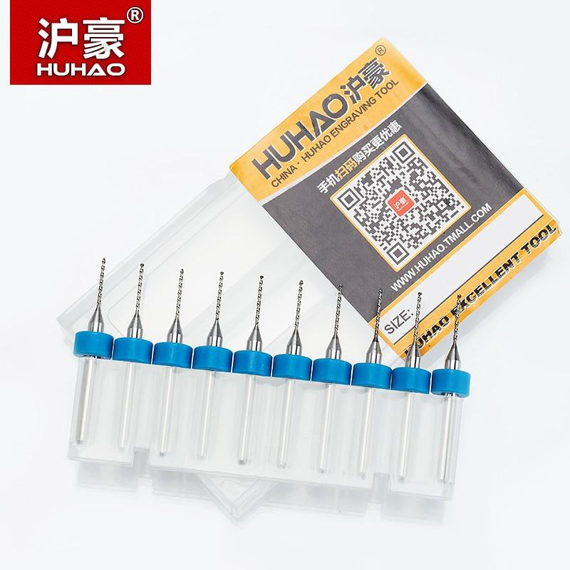 HUHAO 10ks 3,75 mm Micro Mini PCB Sada vrtáků CNC wolframová ocel - Vrták - Fotografie 6