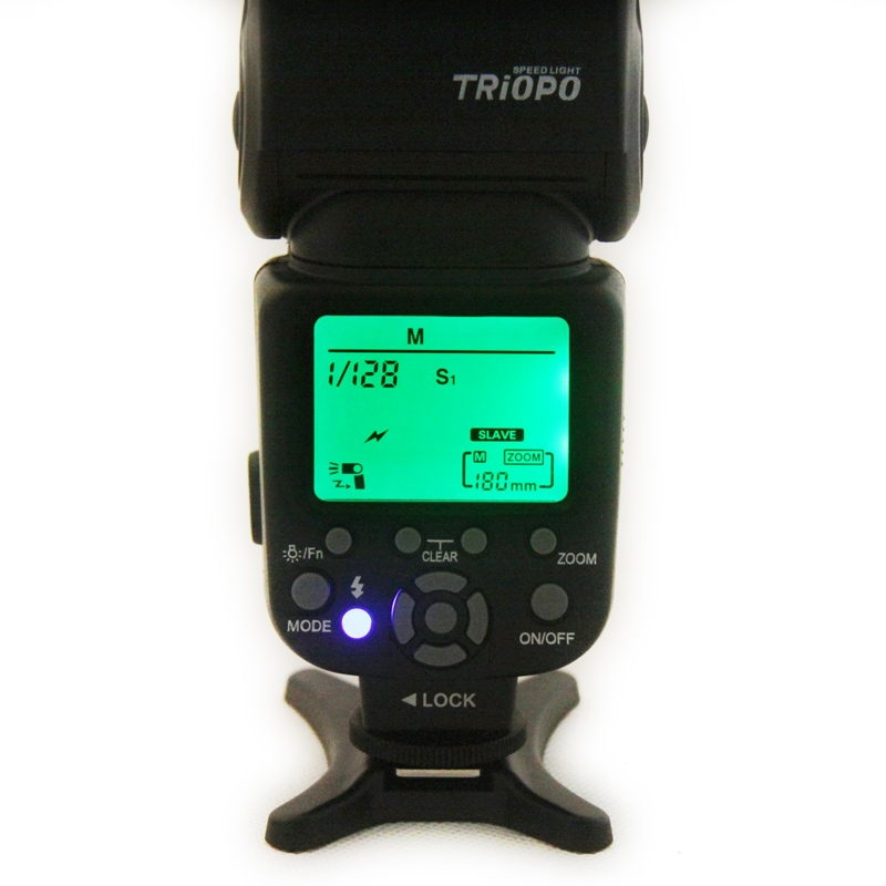 Triopo TR-960III Speedlite Flash Light for Nikon D7000 D5000 D5100 D3200 D3100 DLSR Camera Flash Light Camander High Speed Light