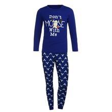 Family Matching Christmas Moose Pajamas