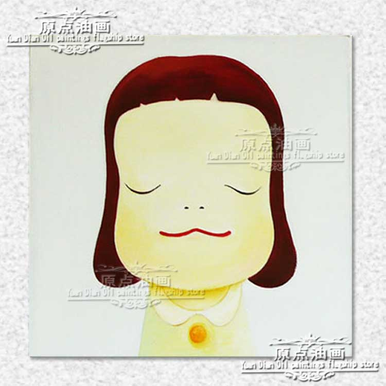 Lovely Thinking Girl Oil Painting For Kid Room Painting Portrait Face Oil painting Impasto figure on canvas Hand painted DecorLovely Thinking Girl Oil Painting For Kid Room Painting Portrait Face Oil painting Impasto figure on canvas Hand painted Decor