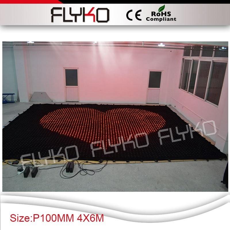 Пикселей шаг 10 см светодиодный экран