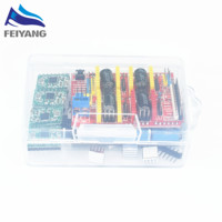 CNC Shield Expansion Board For 3D Printer 4 X A4988 Stepper Motor Driver With Heat Sink
