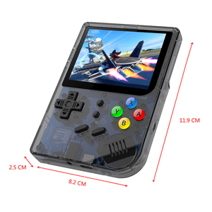 Image 3 - RG300 3 inch Video games Draagbare Retro console Retro Game Handheld Games Console Speler 16G + 32G 3000 GAMES Tony systeem