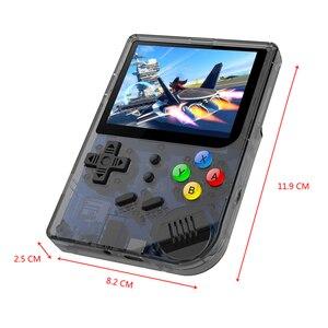 Image 3 - RG300 3 אינץ וידאו משחקים נייד רטרו קונסולת רטרו משחק כף יד קונסולת משחקי נגן 16G + 32G 3000 משחקי טוני מערכת