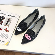 5d4fa3adb0 Buy black pointy flats and get free shipping on AliExpress.com