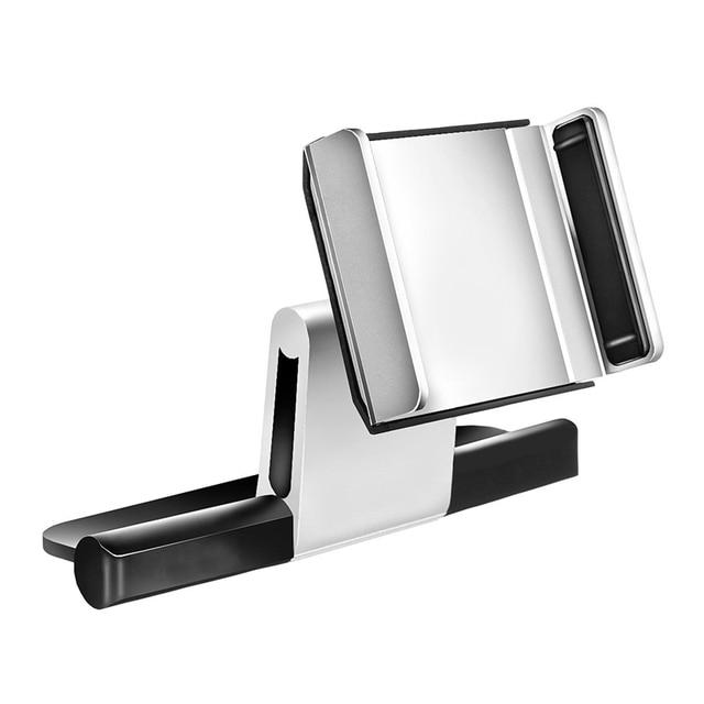 3.5-5.5 Inch Car CD Slot Mobile Phone Holder Bracket 360 Degree Rotating Adjustable Mount Universal For iPhone For Samsung