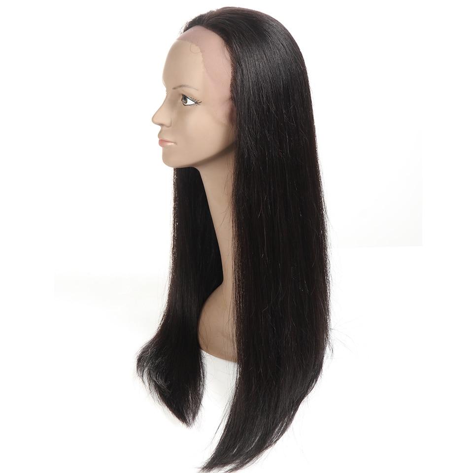Sleek Hair Full Lace Human Hair Wigs For Black Women 22 Inch Brazilian Straight Hair Wig Free Shipping (7)