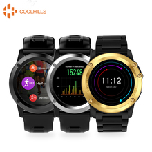 H1 Smart Watch Android OS Sports Smartwatch MTK6572 512MB 4GB ROM SIM 3G GPS Camera Heart Rate Monitor Waterproof Wristwatch