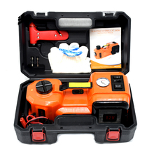 5Tons 12V electric hydraulic lifting car jack with air inflating pump for suv lifting