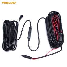 FEELDO 1PC 10meters 2 5mm TRRS Jack Connector To 5Pin Video Extension Cable For Truck Van