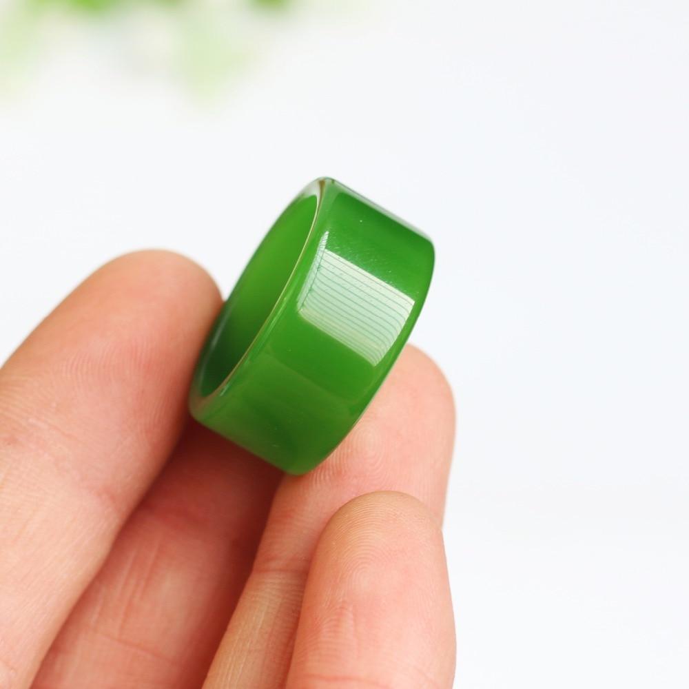 Бирманская старая яма изумрудная Зеленая кнопка относится к зеленому цветку голубое кольцо большой палец нефритовое кольцо 3001