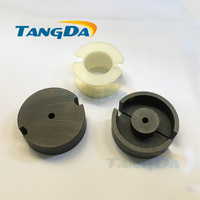 Tangda GU Type GU59 P59 Soft Ferrite Core Magnetic Core Skeleton For Transformer PC40 High Frequency