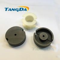 Tangda GU Type GU59 P59 soft ferrite core magnetic core + skeleton for transformer PC40 high frequency A.
