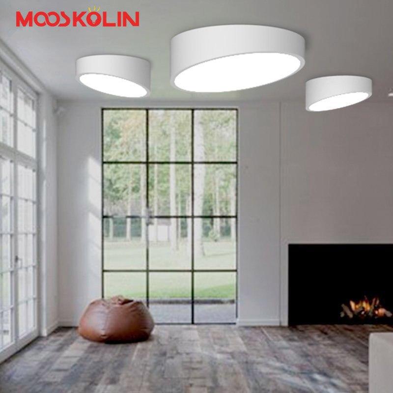 Moderne Led Plafonniers Pour L'éclairage Intérieur plafon led Ronde Plafond Lampe Mobilier Pour Le Salon Chambre Étude luminaria teto