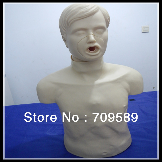 ISO Adult Obstruction Model, CPR and Choking Manikin, CPR Manikin