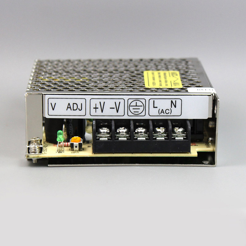 Best quality 24V 1 1A 25W Switching Power Supply Driver for LED Strip AC 100 240V Input to DC 24V free shipping in Switching Power Supply from Home Improvement