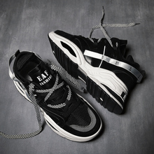 2018 new Men Sport Running Shoes Lace-up Cushioning Man Sneakers Breathable Outdoor Walking Jogging Soft Trekking walking Shoes