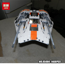 Lepin 05084 Estrellas 1457 Unids Wars Series la Snowspeeder Conjunto Auto-Bloqueo de Bloques de Construcción Ladrillos Educativos Juguetes de Niño Modelo regalos 10129