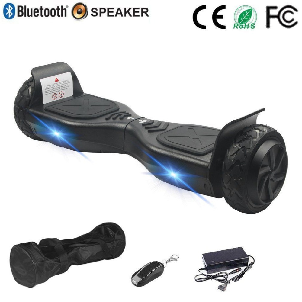 Hoverboard 6.5 Inch Tyre Two Wheels Smart Bluetooth Self Balance Scooter Silence Motor Strong Power