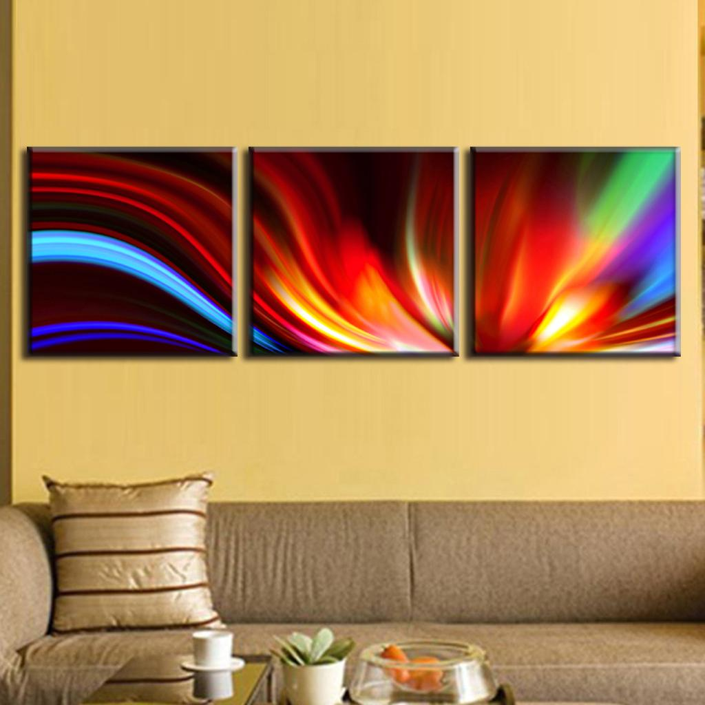Modern Abstract Canvas Wall Art Sets Gift - The Wall Art Decorations ...