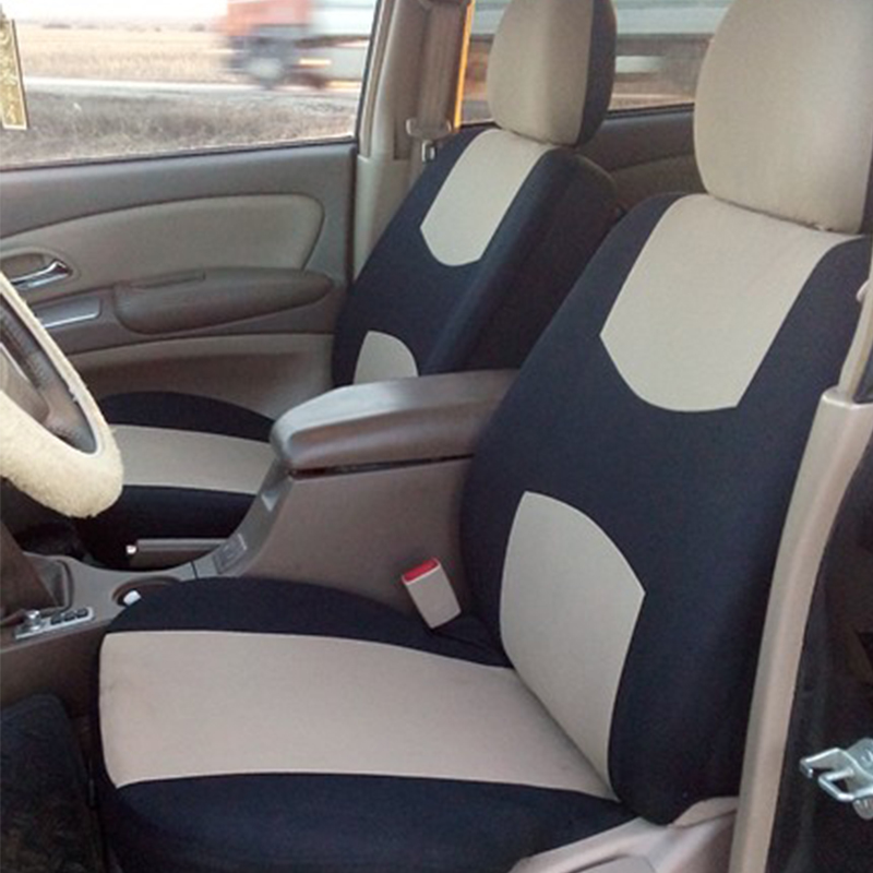 Auto Seat Covers for Car Truck SUV Van - Universal Protectors Polyester 8 Colors 1