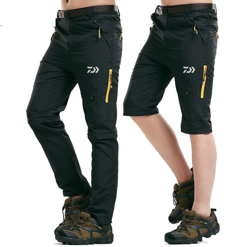Pantalon de randonnée de Camping imperméable extensible d'été pour hommes pantalon de Sport en plein air Trekking pantalons de pêche d'escalade de montagne