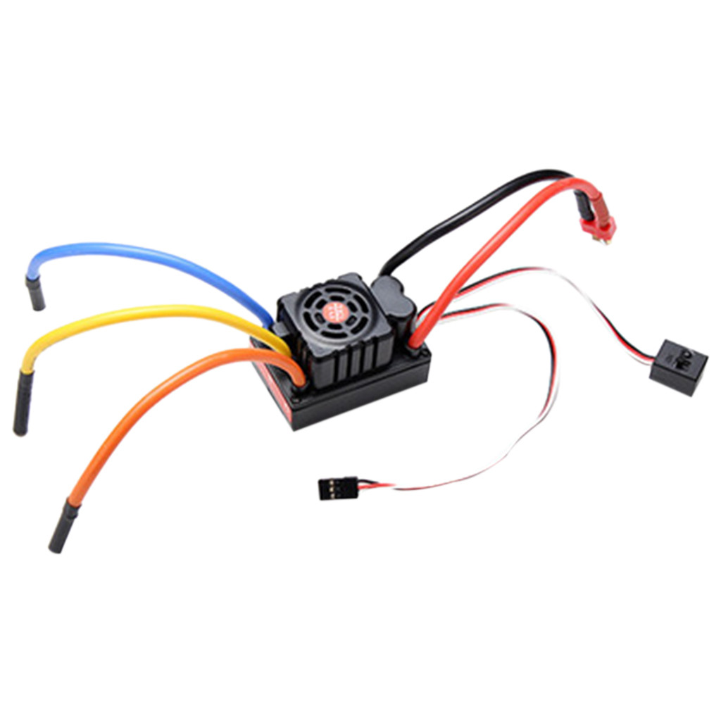 Image 2 - FVT 120A Waterproof Brushless ESC For 1/8 1/10 RC Car Skateboard ESC practical and convenient Remote control toys  parts-in Parts & Accessories from Toys & Hobbies