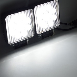 Image 5 - Safego 2X xe 27 W led làm việc ánh sáng đèn 12 V led lái xe đèn 4X4 ATV máy kéo offroad 27 W led worklight đèn sương mù cho xe tải 24 V