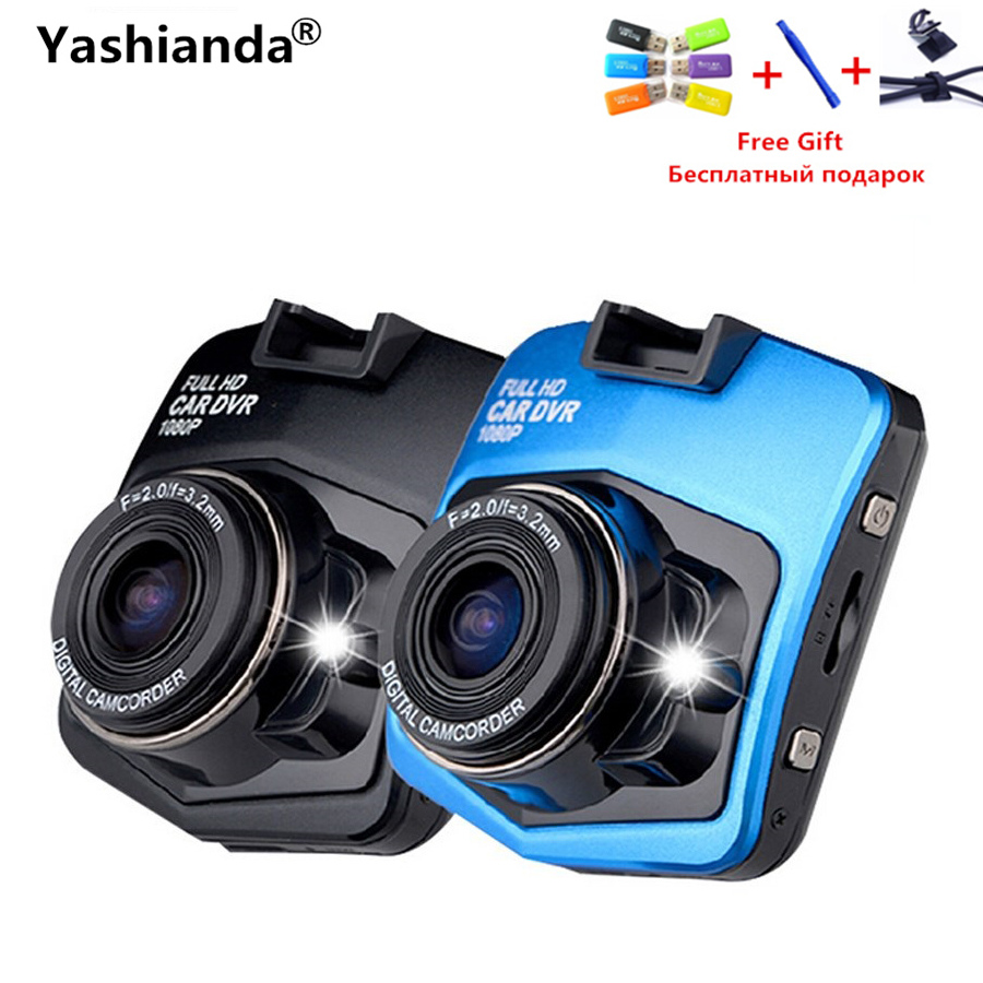 Yashianda Mini Car DVR Camera GT300 Camcorder 2.4 Inch 1080P Full HD Video Registrator Parking Recorder G-sensor Dash Cam