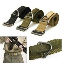 Tactical Belt Military Men's Belt Combat Rescue Rigger Duty Belt BLACKHAWK Outdoors Nylon Lumbar Battle Molle Belts for Men