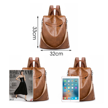 High quality Leather Women Backpacks (2 colors)