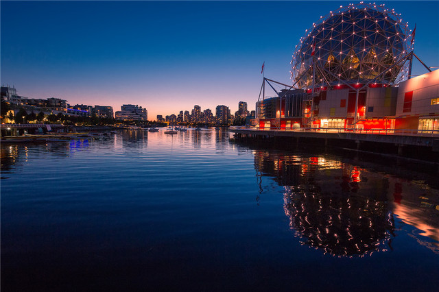 Modern decor art hd printed vancouver canadat scenery on canvas
