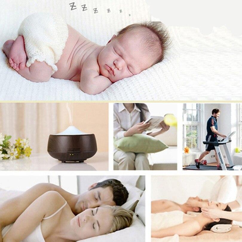 250 ML Aromatherapie Diffuser Hout Led luchtbevochtiger Kleurrijke - Huishoudapparaten - Foto 2