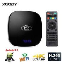 XGODY A95X F1 Smart Tv Box Android 7.1 Wifi RAM 2GB ROM 16GB