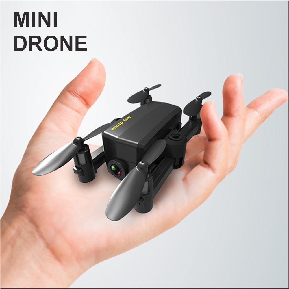 Mini Drone With Camera HD Altitude Hold Headless Mode 2.4G RC Foldable Drone Quadcopter RTF Quadcopter RC Helicopter Toys
