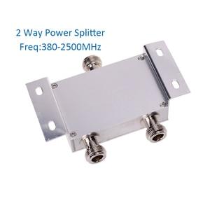 Image 2 - power splitter 2 way  power divider 380~2500MHz N Female for 2G 3G 4G booster repeater amplifier
