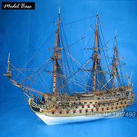 Комплект модели корабля взрослых Diy масштаб 1:50 3d вырезанный лазером по дереву модели кораблей Детские модели деревянные лодки развивающие