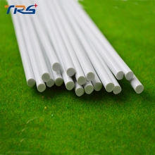 50pcs 6.0mm Round Rod ABS Plastic JYG-6.0 50cm length