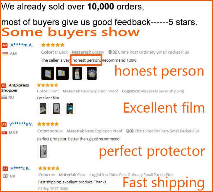 5 cái HD Rõ Ràng/mờ/Nano Chống Nổ Bảo Vệ Bảo Vệ Films cho Điện Thoại Thông Minh Xiomi Xiaomi Redmi 5A Screen Protector Guard