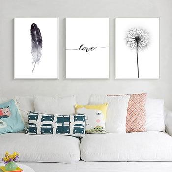 Dandelion & Feather Wall Art