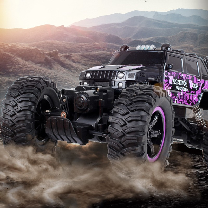 4WD Electric RC Car Rock Crawler Remote Control Toy Cars On The Radio Controlled