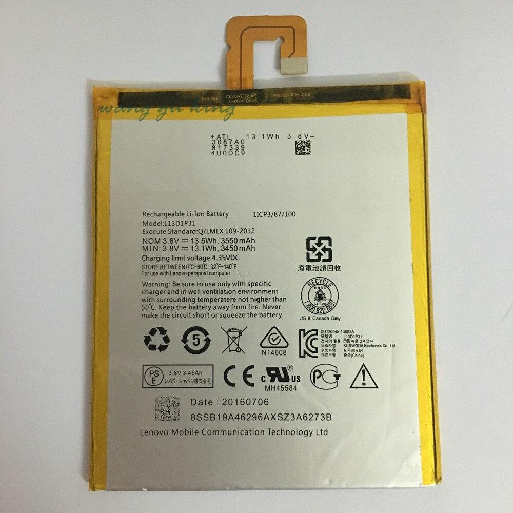 3.8 В 3450/3550 мАч <font><b>L13D1P31</b></font> для <font><b>Lenovo</b></font> LePad S5000 S5000-H Батарея