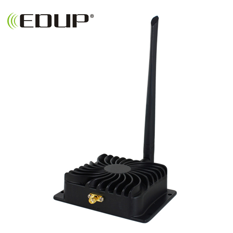 EDUP EP-AB003 2.4Ghz 8W 802.11n Wireless Wifi Signal Booster Repeater Broadband Amplifiers For Wireless Router Wireless Adapter