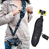 Nouvelle bandoulière Portable pour appareil photo reflex numérique reflex numérique Canon Nikon Sonys rapide accessoires pour appareil photo ceinture sangle de cou