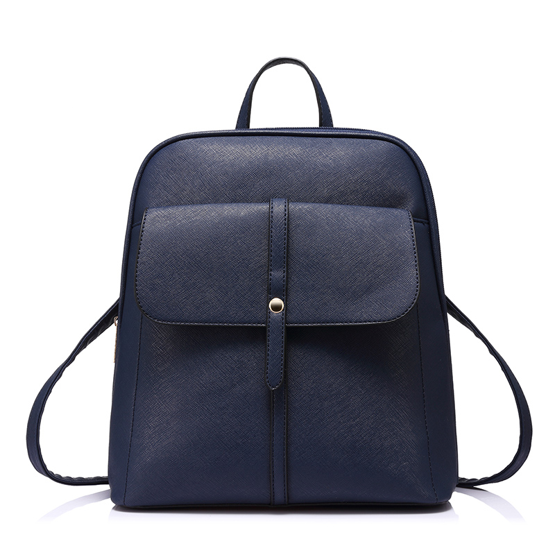 Lovevook Women Backpacks For Teenage Girls Schoolbags Preppy Style Quality Pu Leather Female Shoulder Bag Daypack For Women 2018
