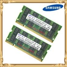 Samsung Laptop Memory 4GB 2x2GB 667MHz PC2-5300 DDR2 Notebook RAM 4G 667 5300S 2