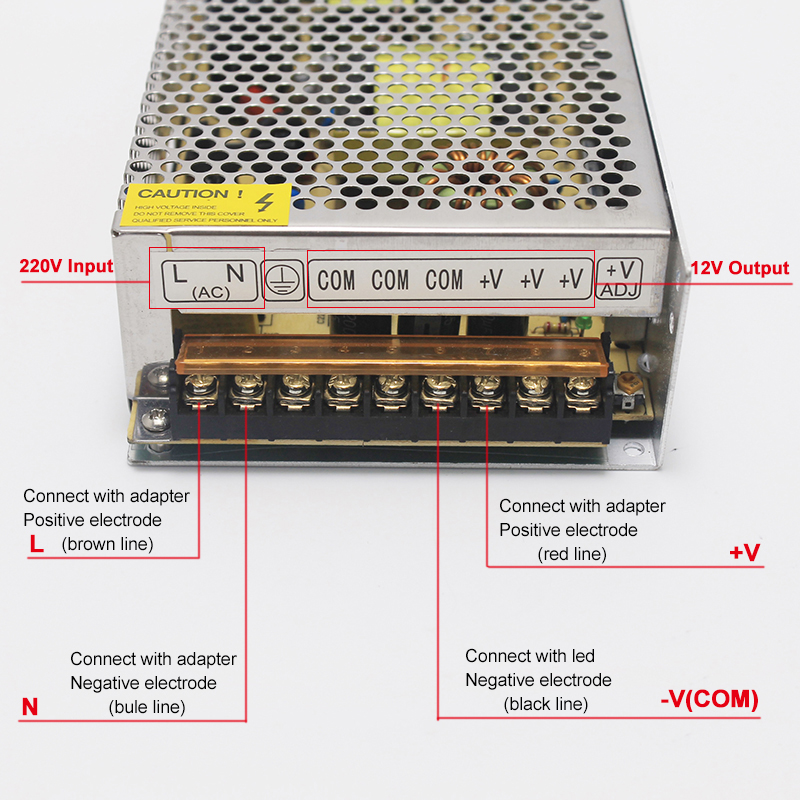 Transformadores de Iluminação 1 pcs 10 w-400 w Tensão de Entrada : Ac110v/220v