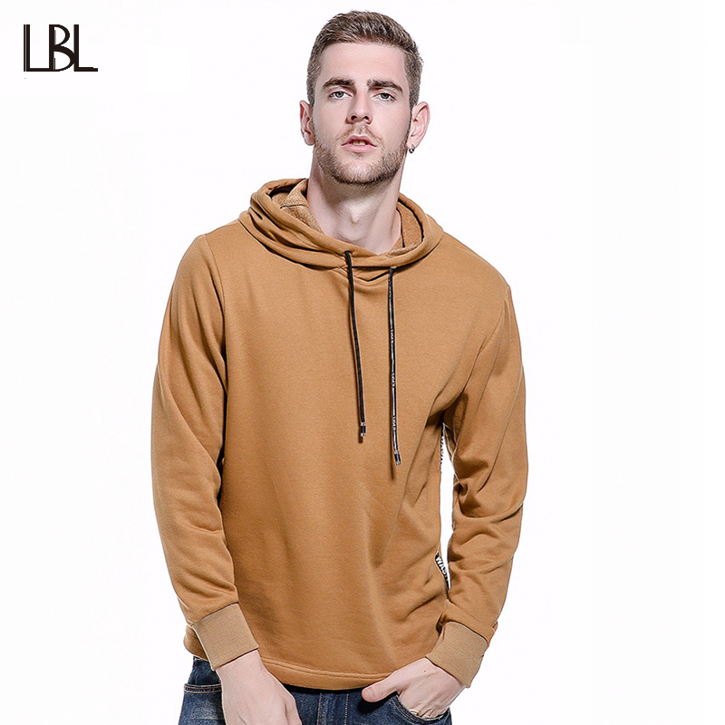 Europe Size Hip Hop Patchwork Mens Fleece Hoodies Punk Street Swear Casual Men Sweatshirt Mens Hoodies and Sweatshirts WY12