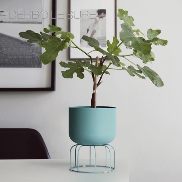 Classic Modern design Loft Metal floor Stand Side Flower Plants Shelf Rack storage, luxury fashion popular decoration racks 1PC 3